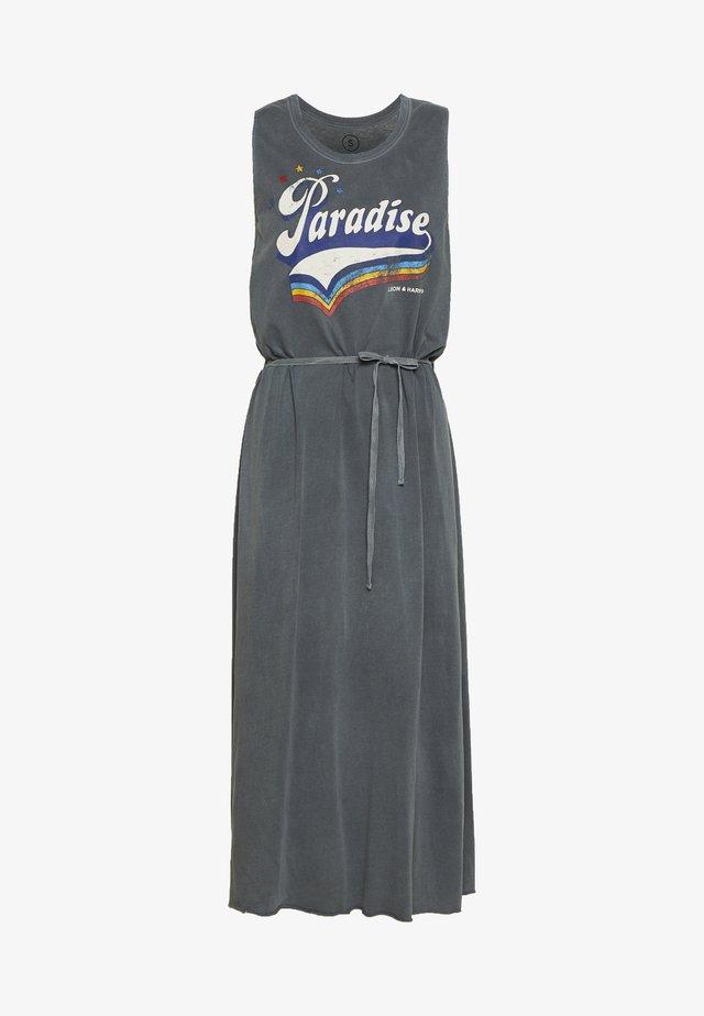 REGISSE PARADISE - Korte jurk - carbone