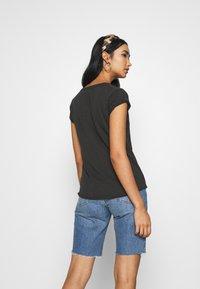Leon & Harper - TOVA TIGER - T-shirts print - carbone - 2