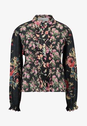 COQUETTE VINTAGE - Button-down blouse - ardoise