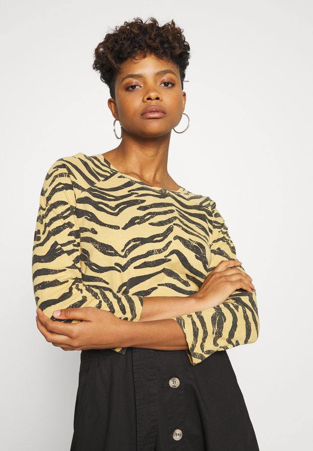 TUMTUM TIGER - Long sleeved top - camel