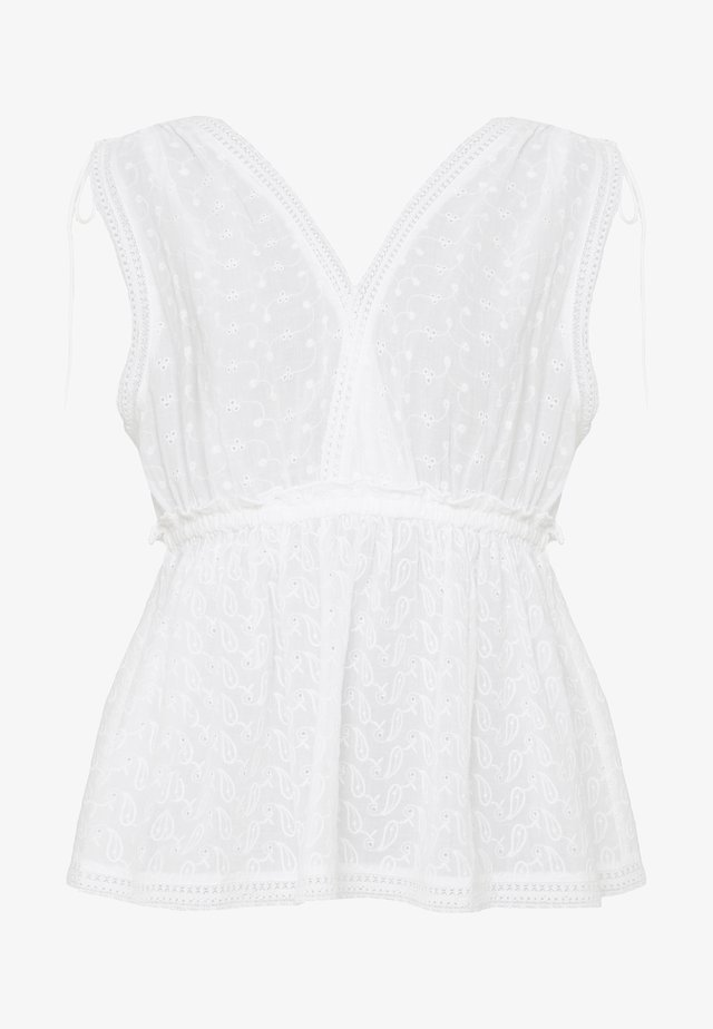 CANAILLE  - Blouse - white