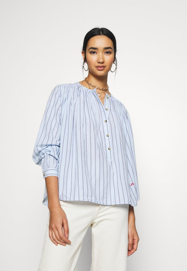 CAKE STRIPES - Blouse - sky