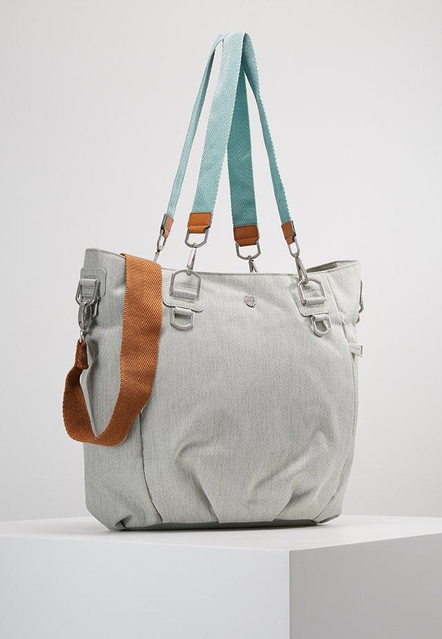 MIX N MATCH BAG - Wickeltasche - light grey