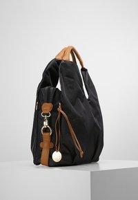Lässig - NECKLINE BAG - Vaippalaukku - denim black - 3
