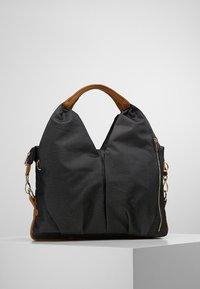 Lässig - NECKLINE BAG - Vaippalaukku - denim black - 2