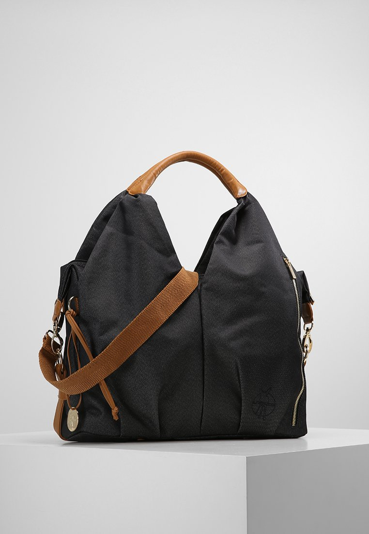 Lässig - NECKLINE BAG - Vaippalaukku - denim black