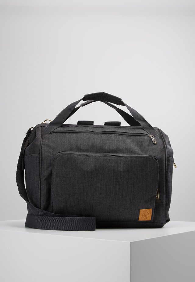 GOLDIE TWIN BACKPACK - Wickeltasche - anthracite
