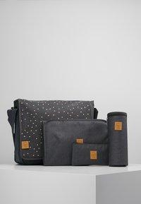 Lässig - MESSENGER BAG TRIANGLE - Tasker - dark grey - 5