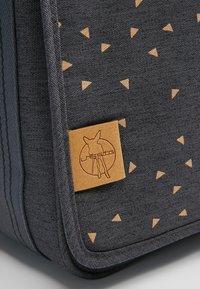 Lässig - MESSENGER BAG TRIANGLE - Tasker - dark grey - 10