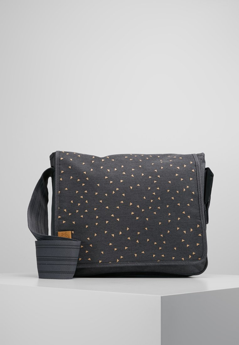 Lässig - MESSENGER BAG TRIANGLE - Tasker - dark grey