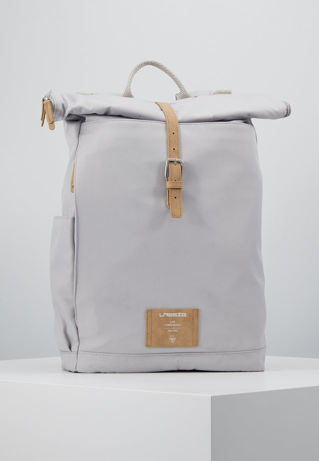 ROLLTOP BACKPACK - Tagesrucksack - grey