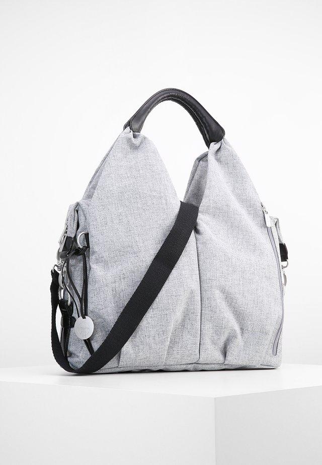 NECKLINE BAG - Baby changing bag - black melange