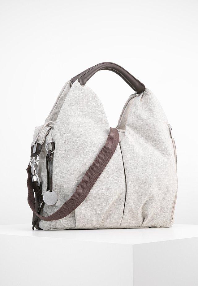 NECKLINE BAG - Bolsa cambiador - choco melange