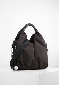 Lässig - NECKLINE BAG - Wickeltasche - black - 0