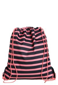 Lässig - MINI STRING BAG LITTLE MONSTERS MAD MABLE SPORTBEUTEL - Reppu - pink/blue - 1