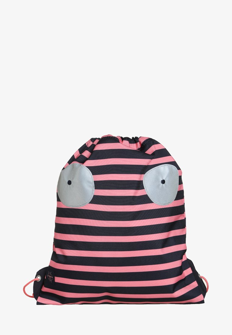 Lässig - MINI STRING BAG LITTLE MONSTERS MAD MABLE SPORTBEUTEL - Reppu - pink/blue