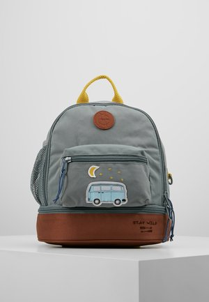 MINI BACKPACK ADVENTURE BUS - Rugzak - cognac/olive