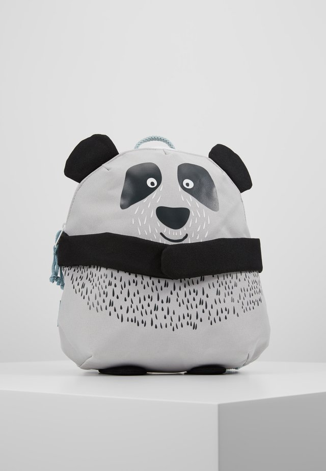 BACKPACK PANDA - Ryggsekk - light grey