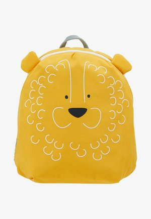 TINY BACKPACK LION - Reppu - gelb