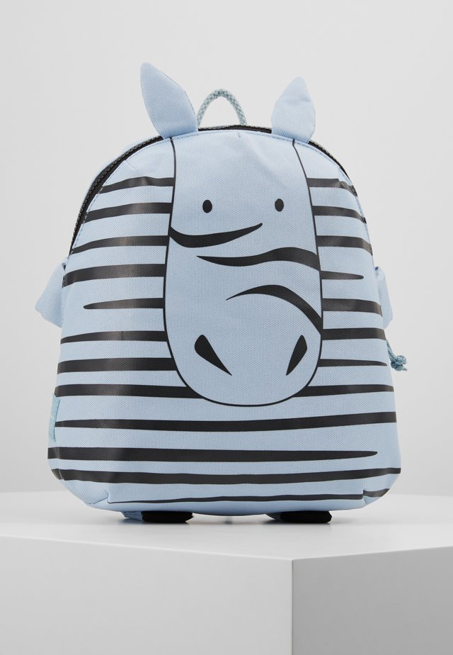 BACKPACK ABOUT FRIENDS KAYA ZEBRA - Ryggsekk - blue