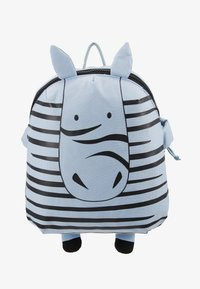 Lässig - BACKPACK ABOUT FRIENDS KAYA ZEBRA - Tagesrucksack - blue - 1