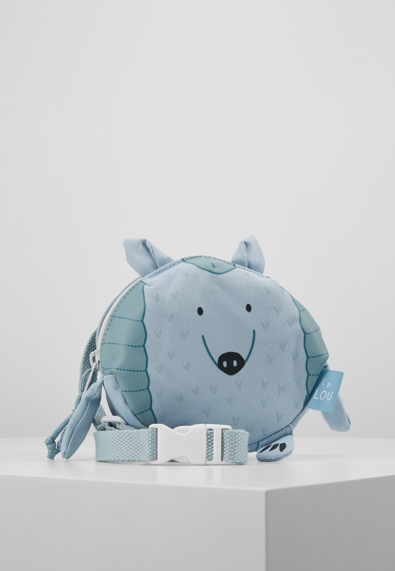 Lässig - MINI BUM BAG ABOUT FRIENDS LOU ARMADILLO - Taška s příčným popruhem - blue