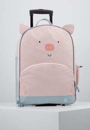 ABOUT FRIENDS BO PIG - Matkalaukku - pink