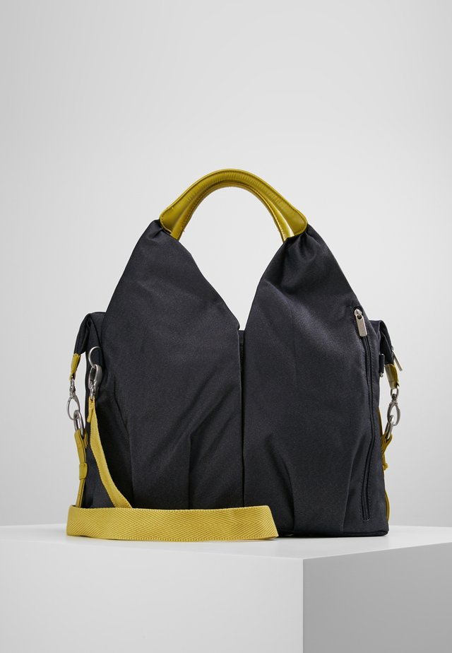 NECKLINE BAG - Wickeltasche - denim blue