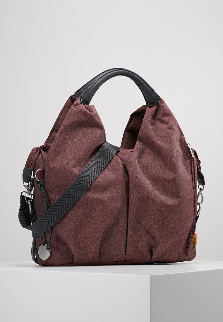 Lässig - NECKLINE BAG ECOYA - Baby changing bag - burgundy red