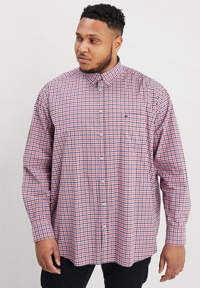 VICHY CHECK  - Shirt - havana red