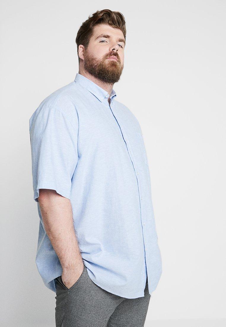 LERROS - Vapaa-ajan kauluspaita - light blue