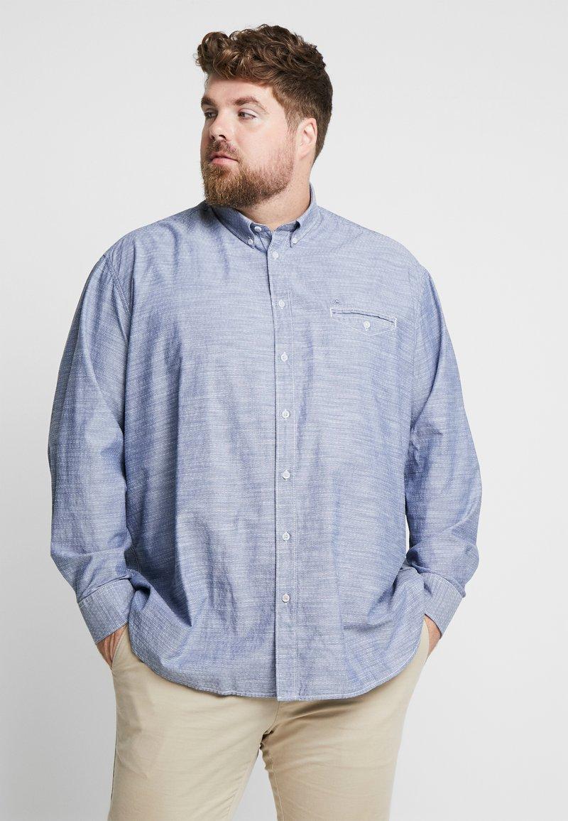 LERROS - DOBBY - Shirt - storm blue