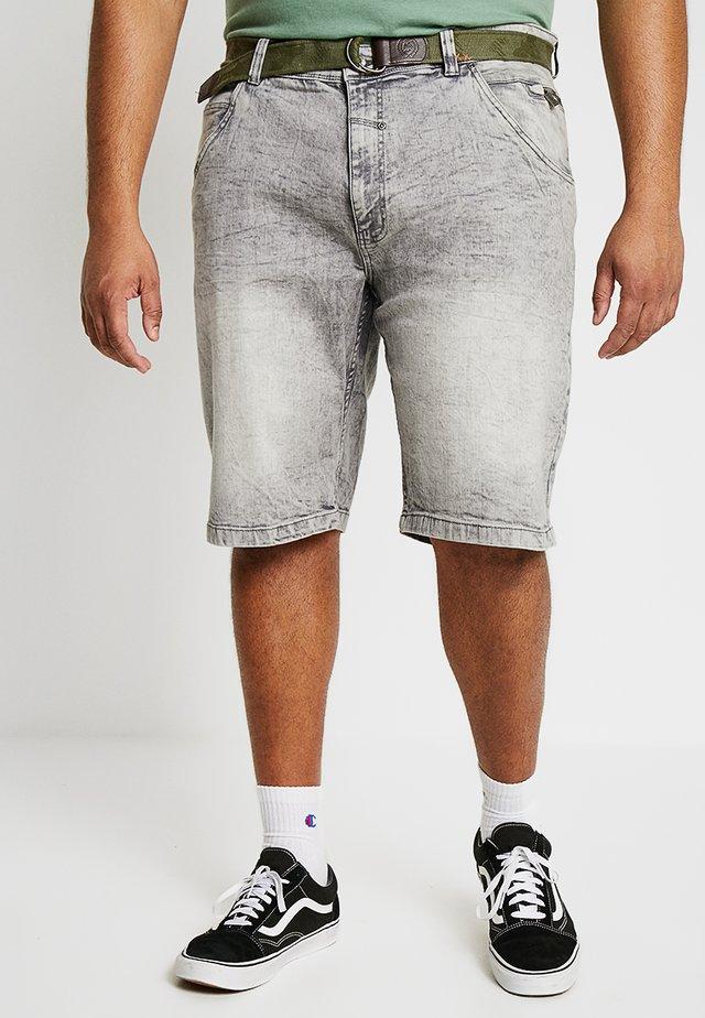 Szorty jeansowe - grau
