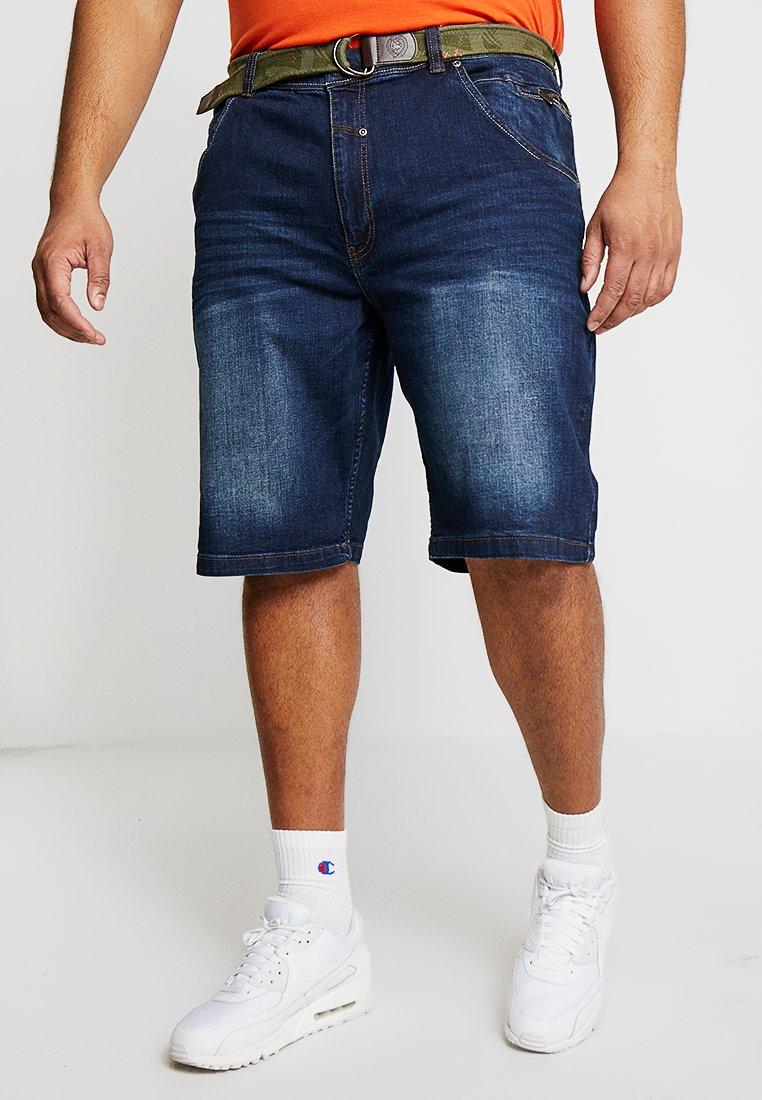 LERROS - Jeans Shorts - night blue