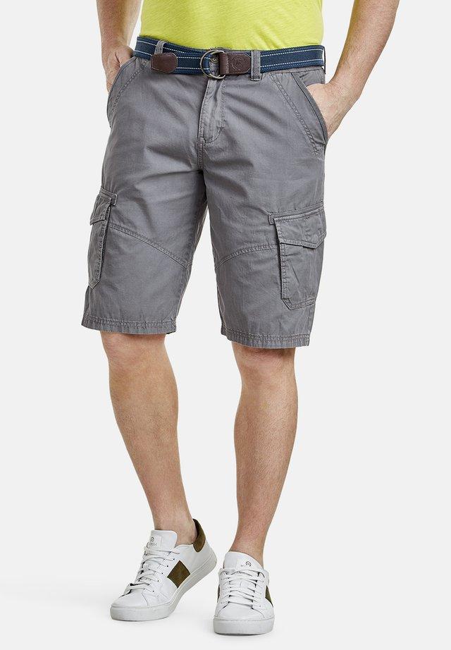 LERROS CARGO-BERMUDA - Shorts - gray