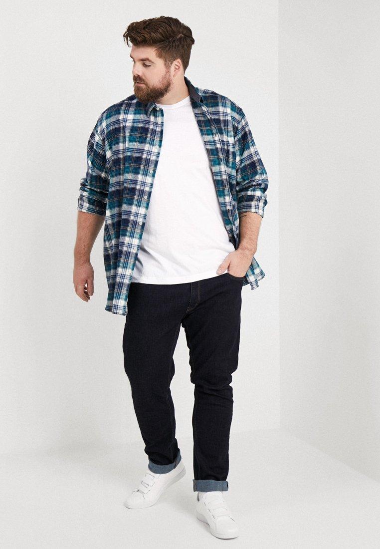 LERROS - RUNDHALS 2PACK - Basic T-shirt - white