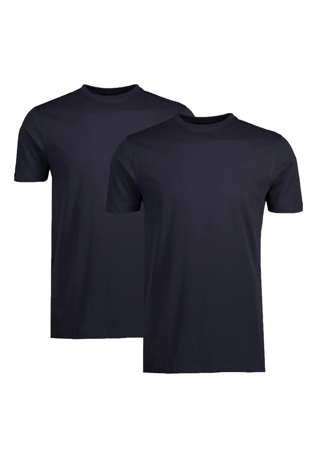 2 PACK - Basic T-shirt - night blue
