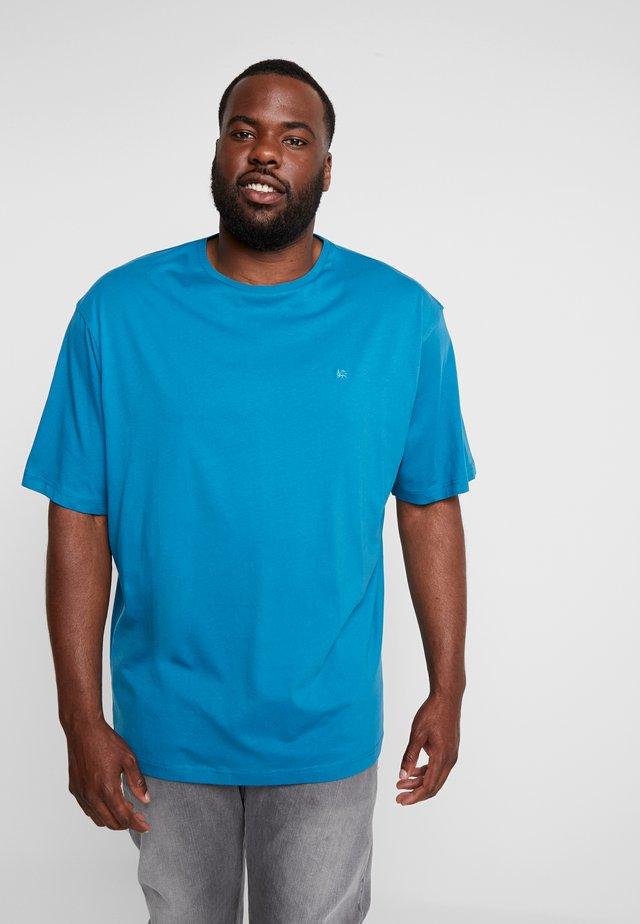 UEBERGROESSE - T-shirt basic - aqua blue