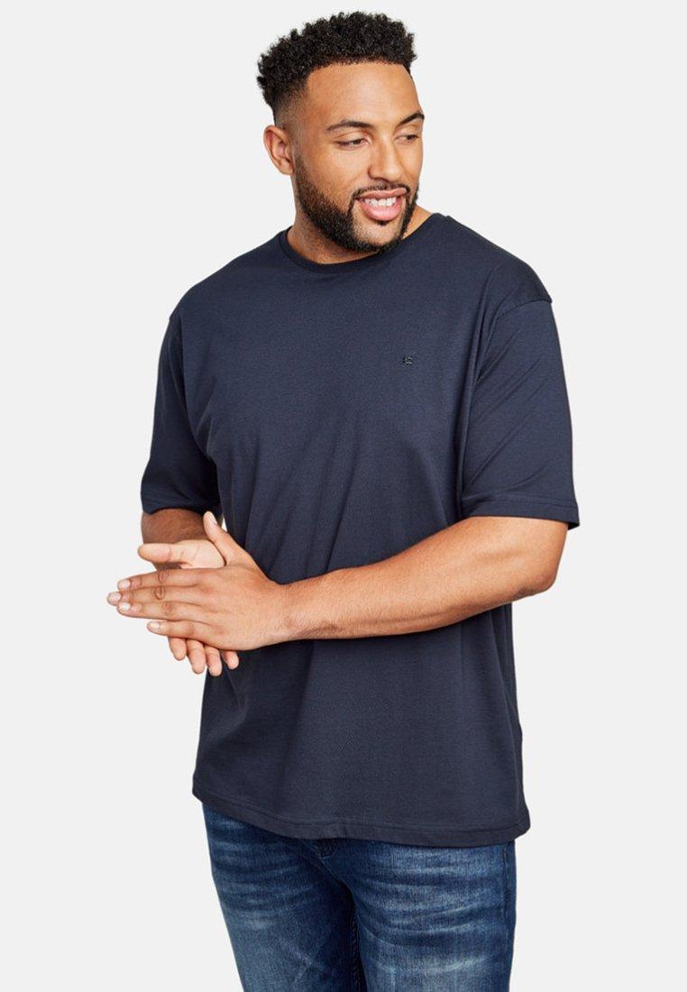 LERROS - UEBERGROESSE - Basic T-shirt - night blue
