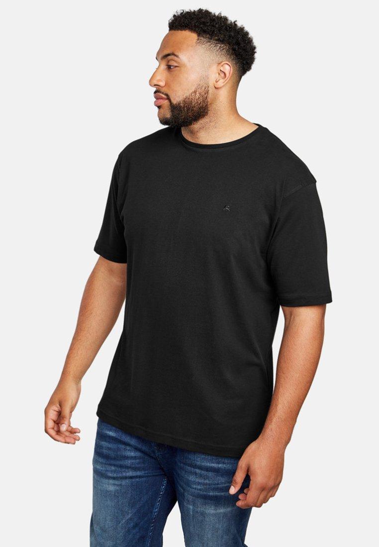 LERROS - UEBERGROESSE - Basic T-shirt - black