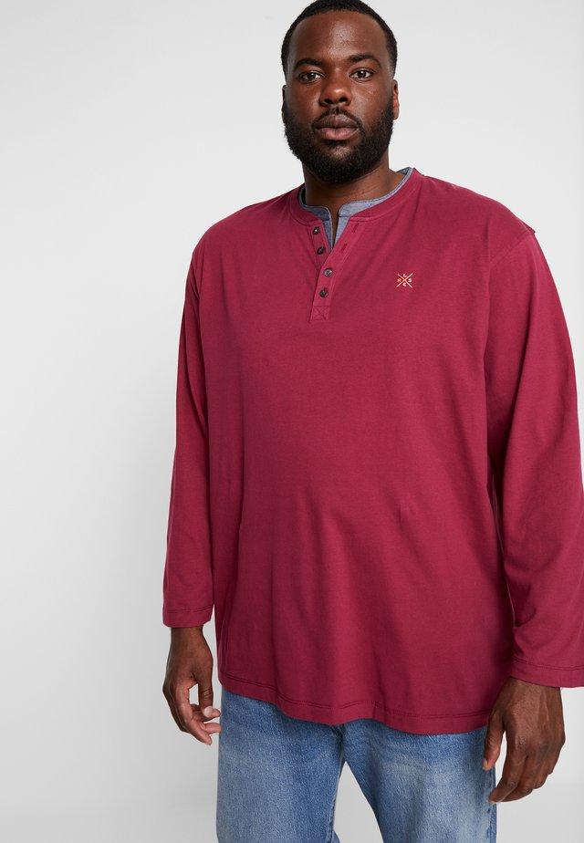 SERAFINO SING - Bluzka z długim rękawem - winter berry