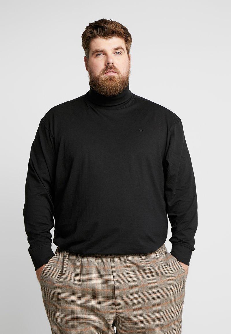 LERROS - Maglietta a manica lunga - black