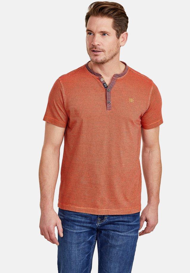 Print T-shirt - strong orange