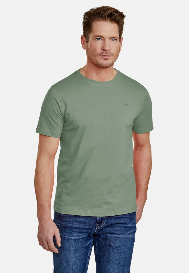 Basic T-shirt - reed green
