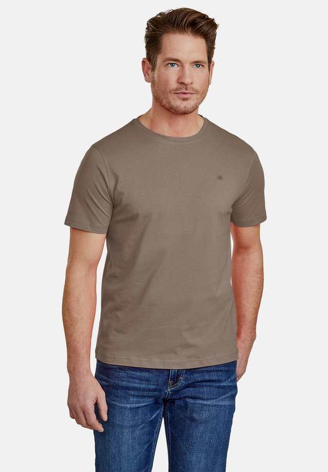 Basic T-shirt - soil brown