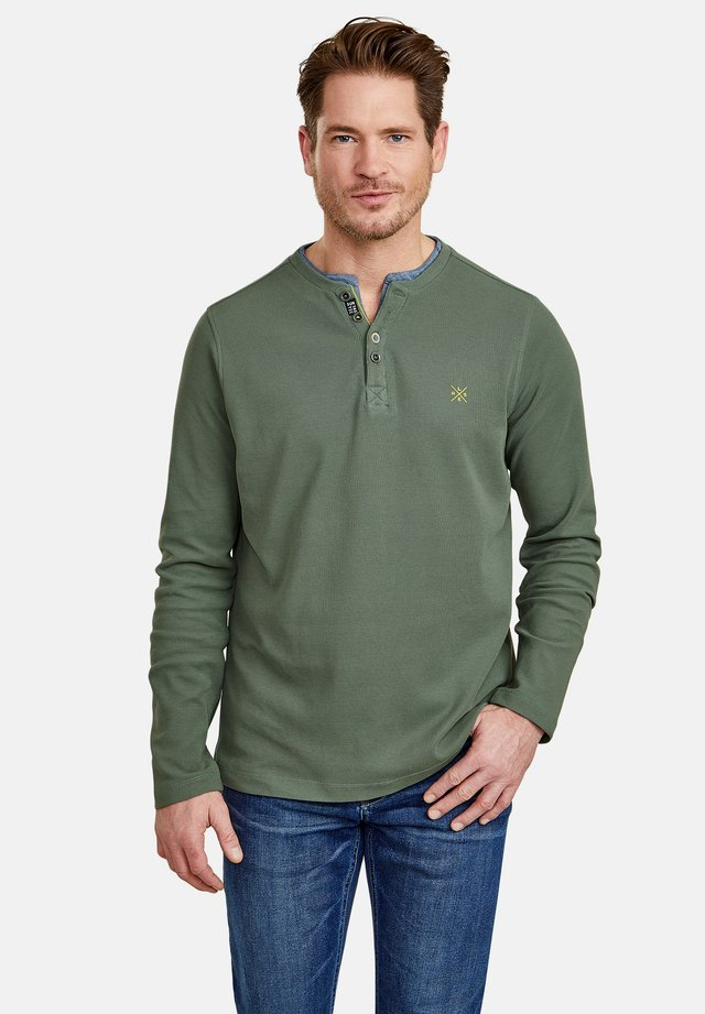 SERAFINO - Long sleeved top - reed green