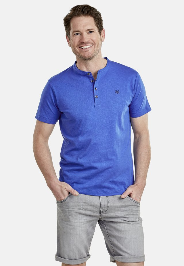 SERAFINO - Basic T-shirt - blue