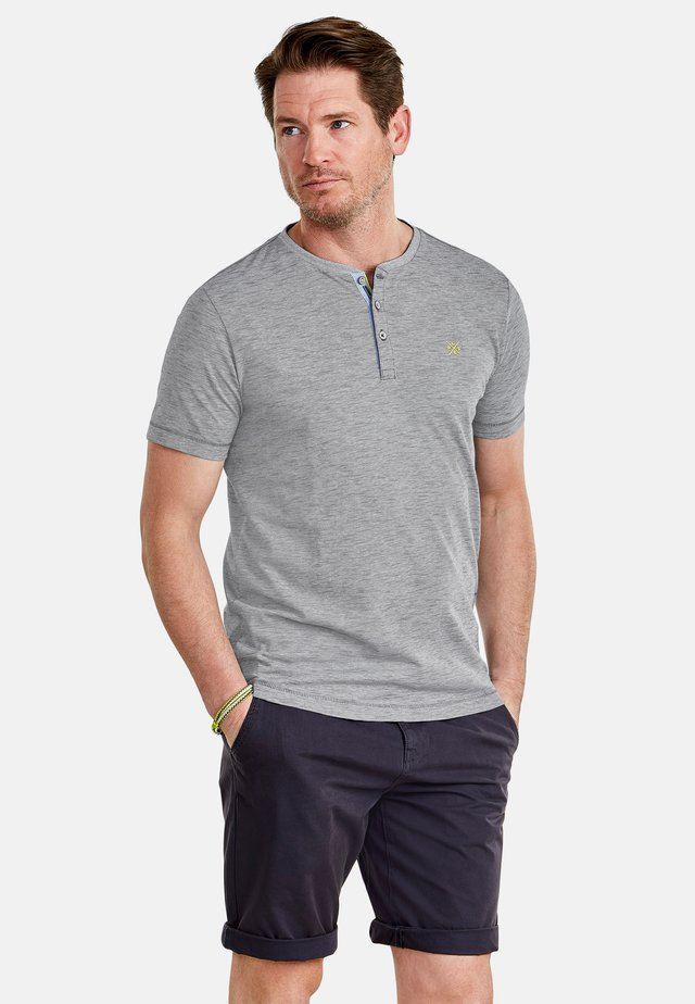 FINELINER - Print T-shirt - rock grey