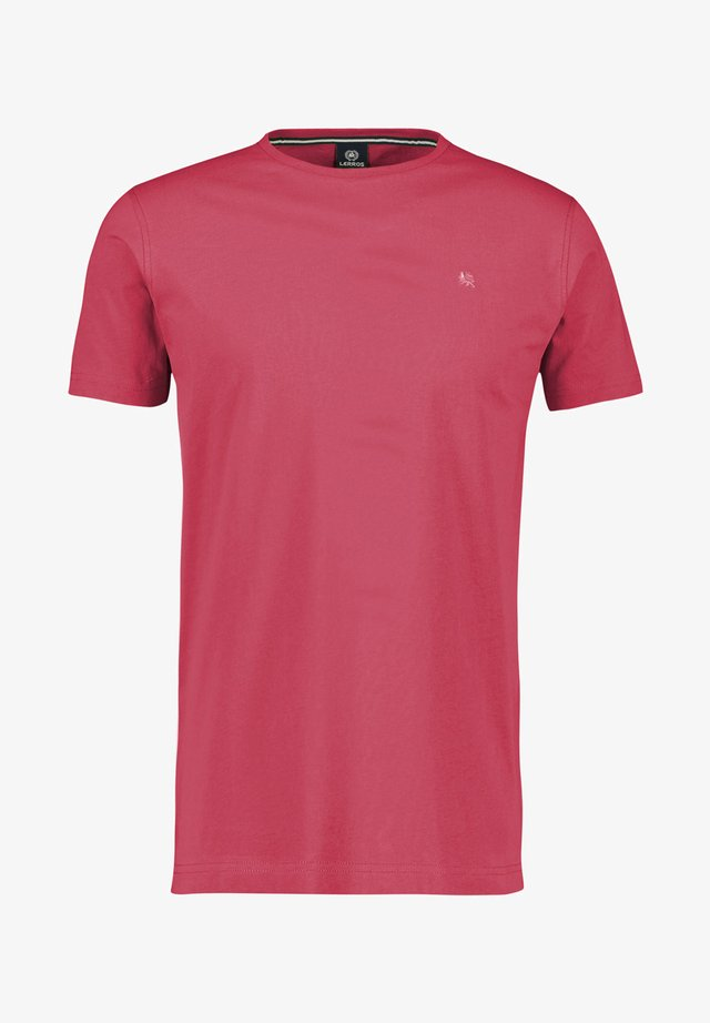 KLASSISCHES T-SHIRT - Basic T-shirt - red