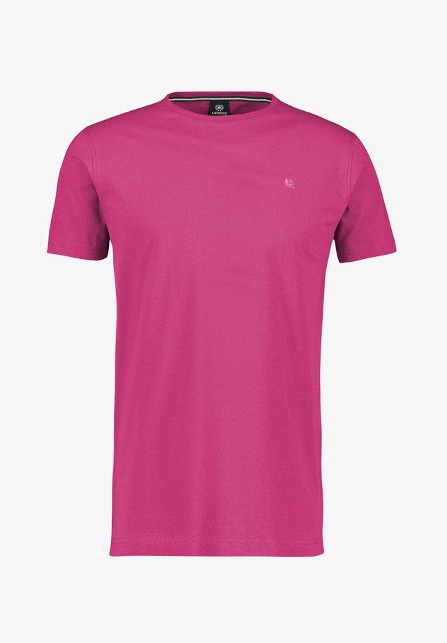 KLASSISCHES T-SHIRT - Basic T-shirt - aurora red